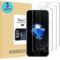 [3-Pack]Vetro Temperato iPhone 7/iPhone 8, EasyULT 3 Pack Pellicola Protettiva in Vetro Temperato Screen Protector per iPhone 7/iPhone 8
