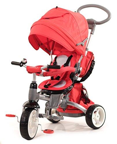BABY'S CLAN Tricycle/Poussette Evolutif 6 en 1
