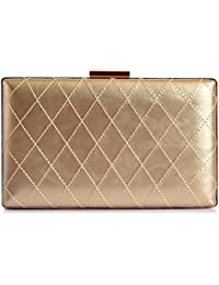 Lino Perros Women's Clutch (Golden) (Numbers 1)