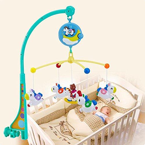 Jouets FEI Nouveau-né Lit bébé Bell éducatifs Musique Rotating nuit Rattles  Début Éducation ( 59ee38ac30f4