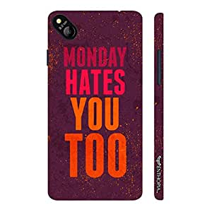 Micromax Bolt D303 Monday Hates You Too designer mobile hard shell case by Enthopia