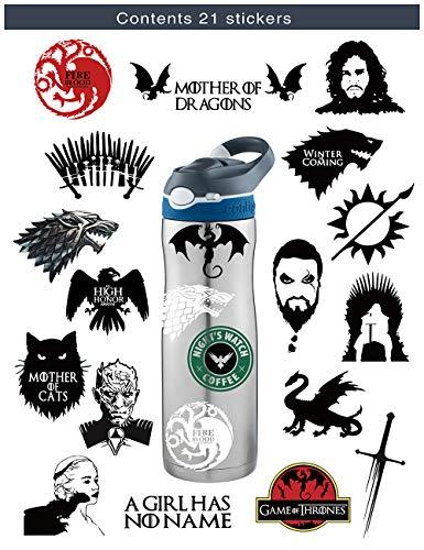 s-001Game of Thrones Winter is Coming Fire und Blut MacBook Aufkleber Vinyl Aufkleber Mac Air Pro Retina Laptop Aufkleber (Blut-lied Das)