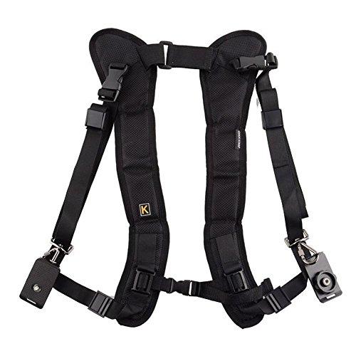 NORDSD Schnell Schnelle Shooting Kamera Doppel Schulter Gurt doppelte für DSLR Kamera Canon Nikon Sony -
