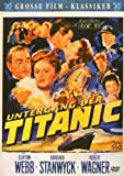 Titanic Plakat Movie Poster (27 x 40 Inches - 69cm x 102cm) (1953) German