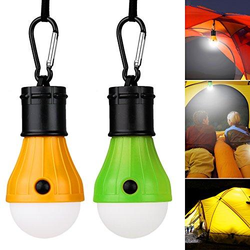 Vitutech LED Campinglampe LED Light camping Lampe, Bright Camping Licht für Camping Wandern Nachtangeln Notlicht, bewegliche, Birne, batteriebetriebenes , Außen- oder Innen (Outdoor-lampe)