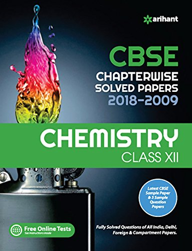 CBSE Chemistry Chapterwise Solved Papers Class 12th Image