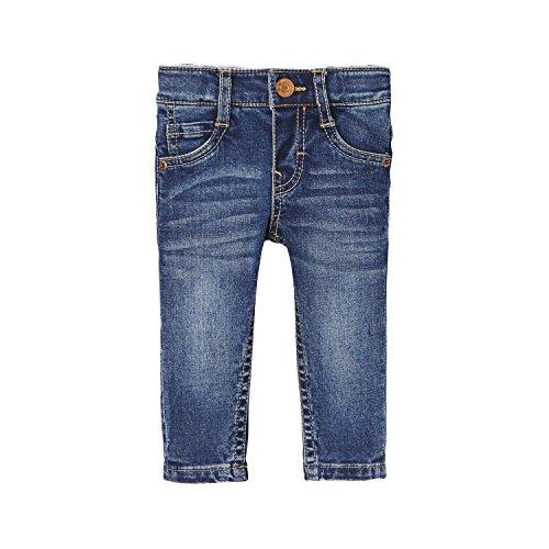 Levi's Kids Baby-Jungen Pant CHECKY Jeans, Blau (Denim 46), 98 (Herstellergröße: 36M) Snap Front Denim