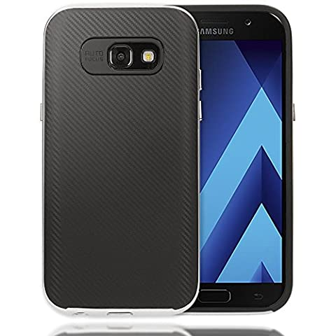 Samsung Galaxy A3 2017 Coque Carbone de NICA, Housse Protection