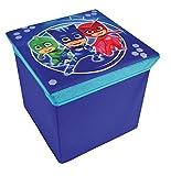 Unbekannt Fun House 712873Hocker Aufbewahrungsbox für Kinder, PP/Karton, blau, 30x 30x 30cm