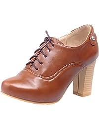 XZGC Talon Bas Mat Vintage Chaussures Casual Chaussures Étudiant, 39 EU, Rose