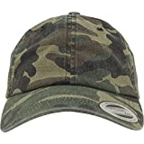 Flexfit Low Profile Camo Washed Kappen, Wood, one Size