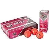 Wilson Staff Fifty Elite Golf Balls (12-Pack), Pink