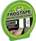 FrogTape Abklebeband - Malerkreppband mit Paint-Block Technologie - Kreppband für saubere Kanten beim Streichen & Lackieren - 24mm x 41m