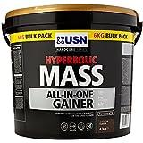USN Hyperbolic Mass All-In-One Gainer Shake Powder, Chocolate - 6 kg