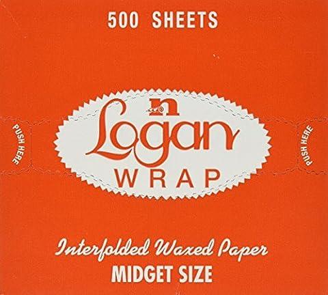 Logan Wrap interfolded Deli Wrap Cera paper 500 sheets by Logan Wrap