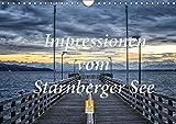 Impressionen vom Starnberger See (Wandkalender 2019 DIN A4 quer): Genießen Sie 12 emotionale Bilder, die den Starnberger See im Licht der Jahreszeiten ... (Monatskalender, 14 Seiten ) (CALVENDO Natur)