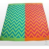 Extra Grande Rayas Multi Color toalla de playa toalla de baño toallas de vacaciones