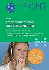 PONS mobil Wortschatztraining Niederländisch: Hörübungen fürs Lernen unterwegs