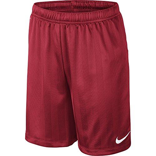 Nike Academy Jaquard-Pantaloni corti da ragazzo, Bambino, Rojo / Negro (University Red/Black), XL