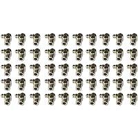 50pcs M10 Zerk 90 grados de ¨¢ngulo M¨¦tricas engrasador de montaje