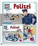 WAS IST WAS Junior Set Polizei Buch + Hörspiel-CD (WAS IST WAS Junior Geschenkset)