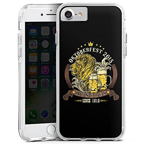 Apple iPhone 6s Bumper Hülle Bumper Case Glitzer Hülle Beer Bier Muenchen Bumper Case transparent