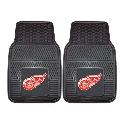 utions, LLC NHL - Detroit Red Wings 2-pc Vinyl Car Mats 17