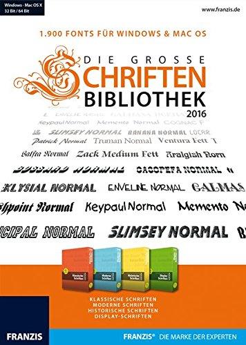 Die große Schriftenbibliothek 2016