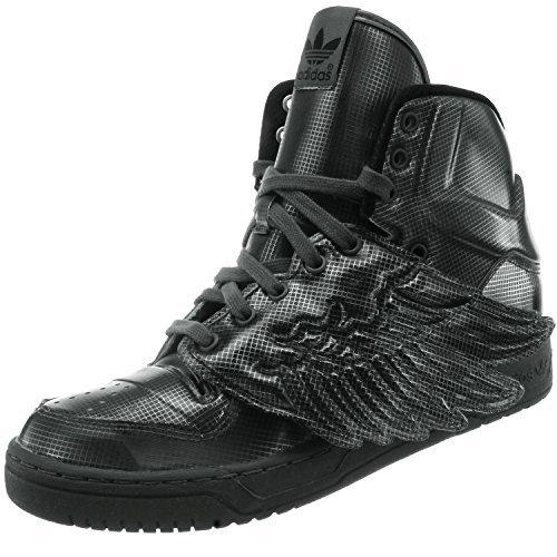 Adidas JS Wings Molded Schuhe Sneaker Turnschuhe Trainers Grau Unisex (Wings Js Adidas)