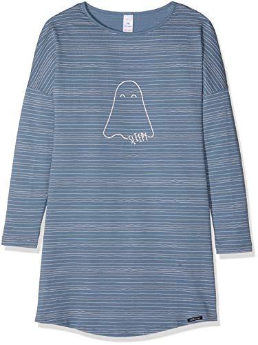 Skiny Mädchen Nachthemd Cosy Night Sleep Girls Sleepshirt Langarm, Mehrfarbig (Bluemirage Stripes 6618), 152