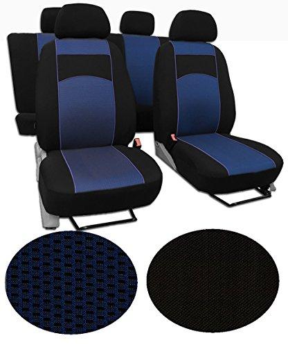 EJP Maßgefertigter Autositzbezug Für VW Passat B5 !!!, Beste Qualität Sitzbezüge im Design VIP-1 (erhältlich in 5 Farben und 9 Mustern)
