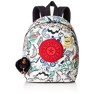 Kipling SIENNA Organizador de bolso, 28 cm, 6 liters, Multicolor (Doodle Play Bl)