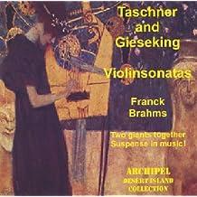 Tascher & Gieseking Perform Violin Sonatas