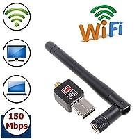 150Mbps 150M Wifi Adapter USB 2.0 WiFi Antenna Wireless Network Card 802.11b/g/n LAN Wi-Fi LAN Adaptor