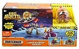 Matchbox Big Boots Play set - Lunar Blaster Saucer - Includes Space Ship and 2 Characters - (Emporer Zondor & Zahara)