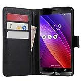 HualuBro ZenFone 2 ZE551ML Case, Premium PU Leather Wallet