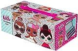 L.O.L. Surprise ! LOL Surprise Maletín Pinturas 52 Piezas Color Rosa DI1583LOL