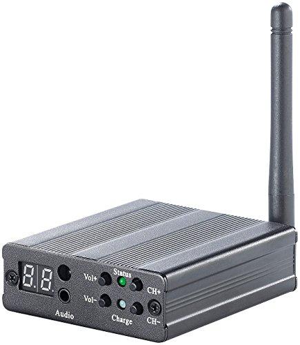 auvisio Digitales Audio-Funkübertragungssystem mit Verstärker