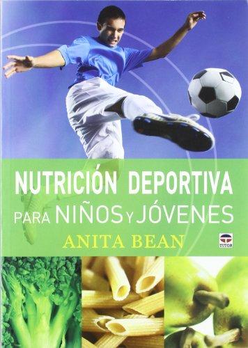 Portada del libro NUTRICIÓN DEPORTIVA PARA NIÑOS Y JÓVENES