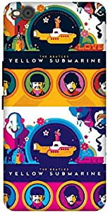 The Racoon Grip yellow submarine hard plastic printed back case / cover for HTC One X9
