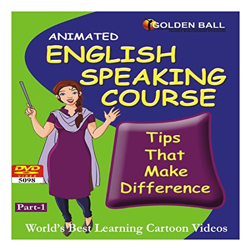 Golden Ball 5098 English Speaking Course Part 1 (DVD)