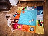 Tantino Activity mat 125x125 cm 100% Sewn, Sensory mat, Busy mat, Montessori mat, Handmade Product, 6 Months b