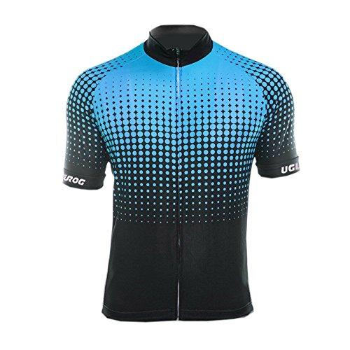 Uglyfrog Herren Sommer Fahrradtrikot Kurzarm Radtrikot MTB Pro-T/Jersey/Reißverschluss/Atmungsaktiv/Schnelltrocknend Trikots & Shirts