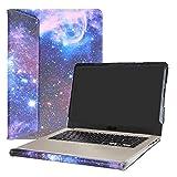 Alapmk Spécialement Conçu Protection Housses pour 15.6' ASUS VivoBook S15 S510 S510UA S510UQ S510UN F510UA X510UQ Series Portable,Galaxy