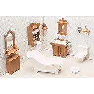 Casa delle bambole mobili Kit-bagno