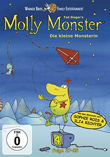 Molly Monster - Vol. 4 (Episoden 27-35) [Alemania] [DVD]