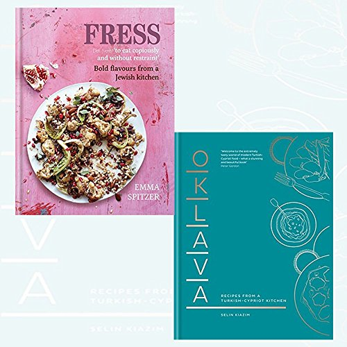 Fress: Bold, Fresh Flavours from a Jewish Kitchen and Oklava: Recipes from a Turkish–Cypriot kitchen 2 Books Collection Set