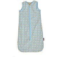 Glorious Lou Jersey Saco de dormir de verano de 100% de algodón bio–0,32tog–Colección Cinnamon Sparkle–Azul estufas de diseño