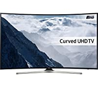 "Samsung UE55KU6100K 55"" Ultra HD 4K Curved LED Smart TV with Built-in Freeview HD"