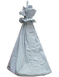 Câlin Câline Nino 100.22 Nappy / Pyjama Bag White with Blue Spots